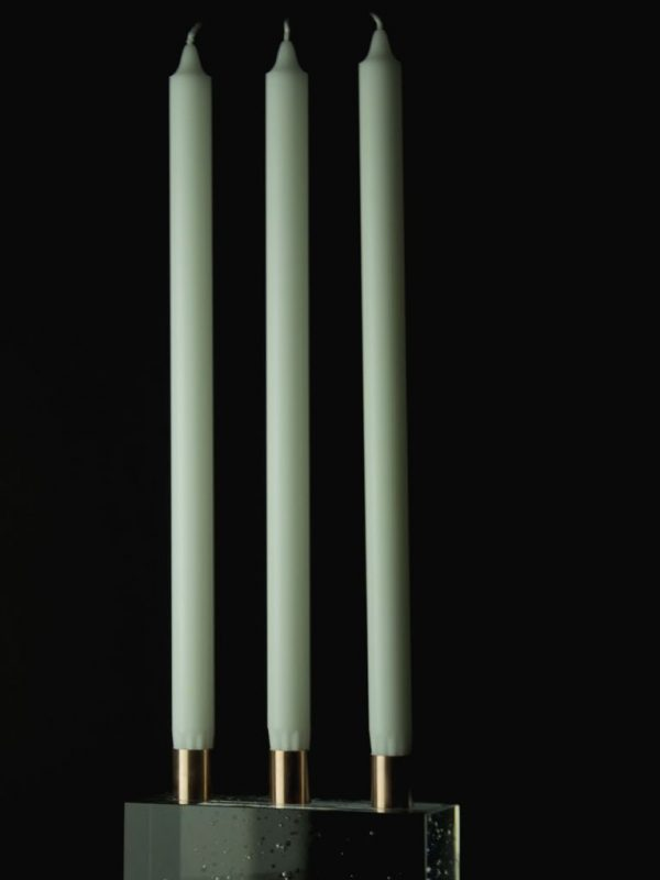 candle holder baiba glass